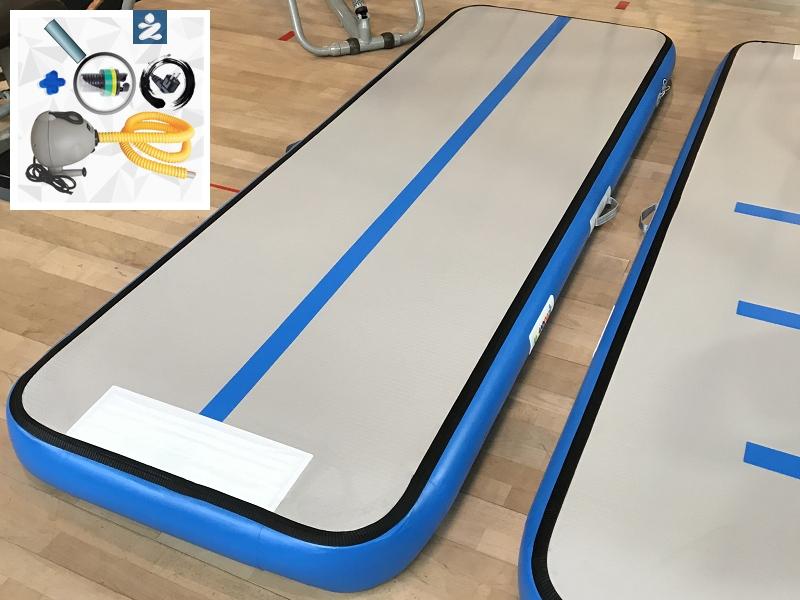 60//75 Gymnastikmatte Air Track Turnmatte Gym Tumbling Matte W// Pumpe